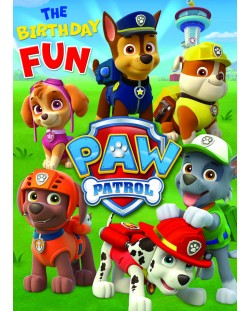 Поздравителна картичка Danilo - Paw Patrow