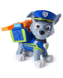 Фигура със значка Spin Master Paw Patrol - Ultimate Rescue, Роки