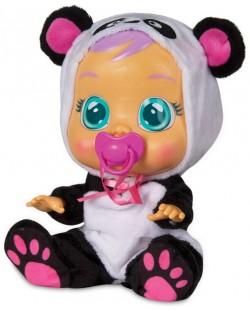 Детска играчка IMC Toys Crybabies – Плачещо със сълзи бебе, Панди