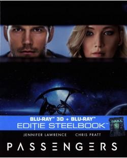 Пасажери 3D+2D (Blu-Ray) - Steelbook