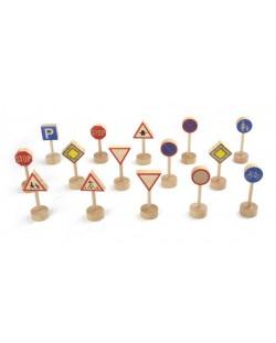 Комплект детски играчки Pino - Пътни знаци