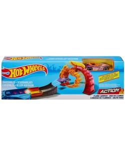 Писта с количка Hot Wheels Action - Flame Jumper