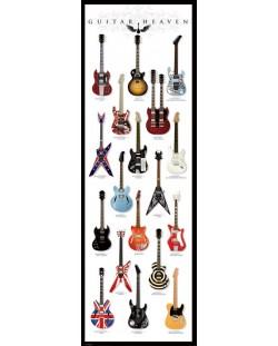 Плакат за врата Pyramid - Guitar Heaven