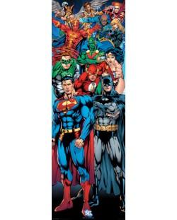 Плакат за врата Pyramid - DC Comics (Justice League of America)