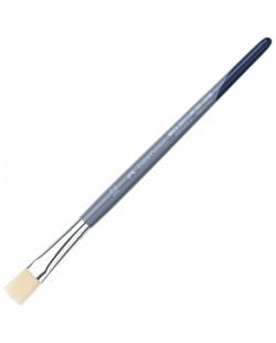 Плоска четка за рисуване Faber-Castell №12 - Синтетичен косъм