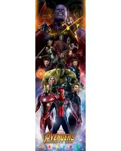 Плакат за врата Pyramid - Avengers: Infinity War (Characters)