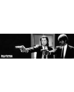 Плакат за врата Pyramid - Pulp Fiction (B&W Guns)