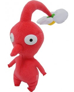 Плюшена играчка Together Plus Nintendo - Red Pikmin, 21 cm