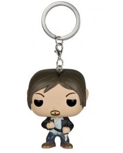 Ключодържател Funko Pocket Pop! Television: The Walking Dead - Daryl Dixon, 4 cm
