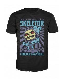 Тениска Funko Pop! All Hail Skeletor, черна