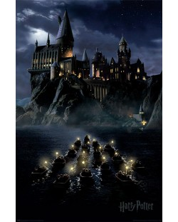 Макси плакат Pyramid - Harry Potter (Hogwarts Boats)