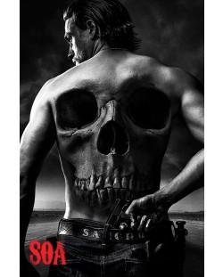 Макси плакат Pyramid - Sons of Anarchy: Skull
