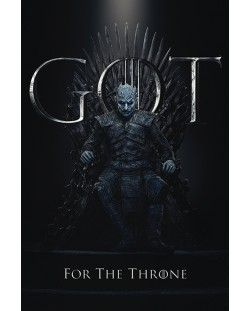 Макси плакат Pyramid - Game of Thrones (The Night King For The Throne)