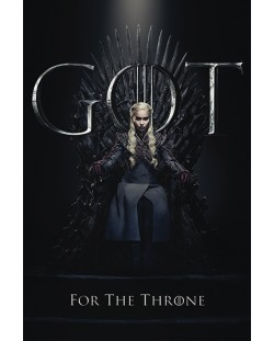 Макси плакат Pyramid - Game of Thrones (Daenerys For The Throne)