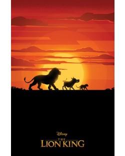Макси плакат Pyramid - The Lion King Movie (Long Live The King)