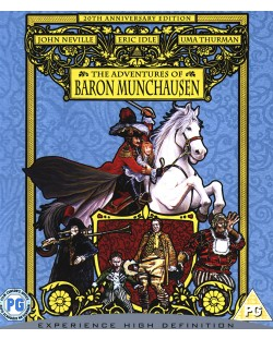 Приключенията на Барон Мюнхаузен (Blu-Ray)