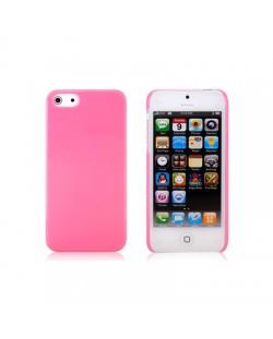 Protective Plastic Case за iPhone 5 -  розов