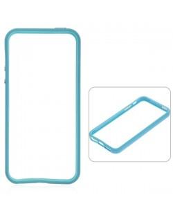 Protective Ultraslim Bumper за iPhone 5 -  светлосин