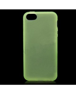 Protective Translucent TPU Case за iPhone 5 -  зелен