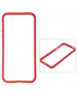 Protective Ultraslim Bumper за iPhone 5 -  червен