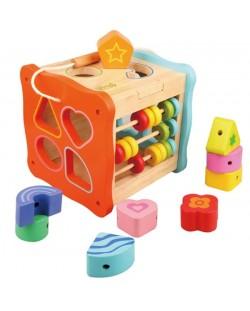 Дидактически куб с форми Pino