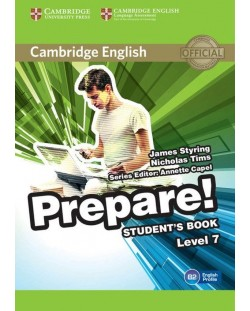 Prepare! 7 Student's Book: Английски език - ниво B2 (учебник)