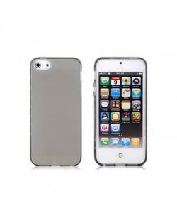 Protective Translucent TPU Case за iPhone 5 -  прозрачен