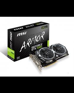 Видеокарта MSI GeForce GTX 1080 Armor Overclocked (8GB GDDR5X)