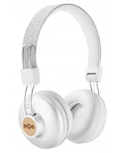 Безжични слушалки House of Marley - Positive Vibration 2, сребристи