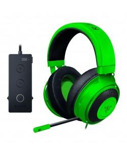 Гейминг слушалки Razer Kraken Tournament Edition - Green