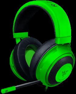 Гейминг слушалки Razer Kraken - Multi-Platform, зелени