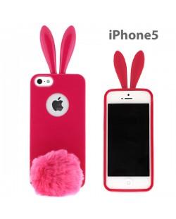 Rabito Bunny Case за iPhone 5 -  розов