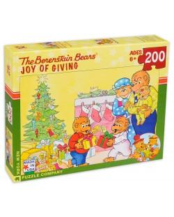 Пъзел New York Puzzle от 200 части - Радостта от подаряване