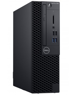 Настолен компютър Dell OptiPlex - 3060SFF, TPM, черен