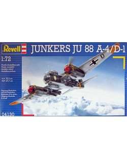 Сглобяем модел на военен самолет Revell - Ju 88 A-4/ D-1 (04130)