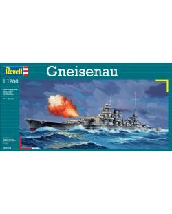 Сглобяем модел на военен кораб Revell - Gneisenau (05803)
