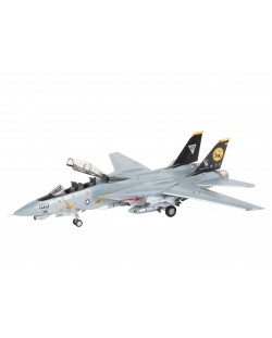 Сглобяем модел на военен самолет Revell - F-14D Super Tomcat Last Flight (04195)