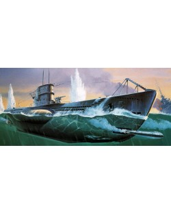 Сглобяем модел на подводница Revell - U99 U-Boat (05054)
