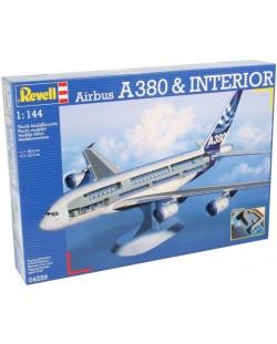 Сглобяем модел на самолет Revell - Airbus A380 & Interior (04259)