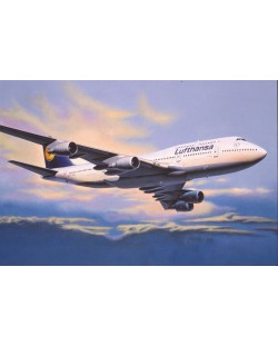 Сглобяем модел на самолет Revell - Boeing 747-400 Lufthansa (04219)