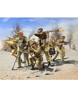 Фигури Revell - Scottish Infantry 8th Army WW II (02512)