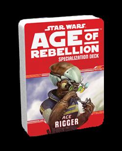 Допълнение за ролева игра Star Wars: Age of Rebellion - Rigger Specialization Deck
