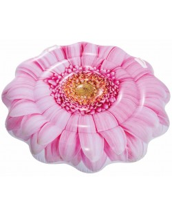 Надуваем дюшек Intex - Розов гербер, 142 cm