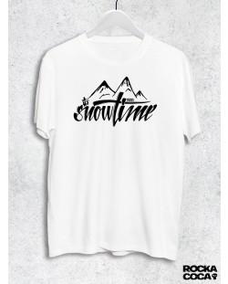 Тениска RockaCoca Snow, бяла, размер S