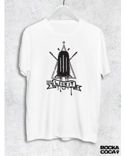 Тениска RockaCoca Lick it, черна/бяла, размер S