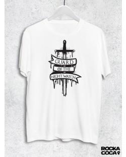 Тениска RockaCoca Guard, бяла, размер M