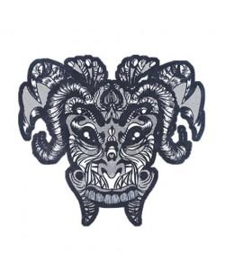 Тениска RockaCoca Mask, бяла, размер XL