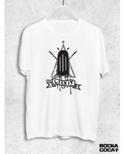 Тениска RockaCoca Lick it, черна/бяла, размер M