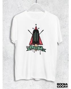 Тениска RockaCoca Lick it, бяла, размер L