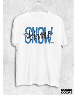 Тениска RockaCoca Snow Time, бяла, размер XL